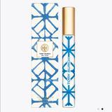 Tory Burch Bath & Body | Bel Azur Eau De Parfum Rollerball | Color: Blue/White | Size: Os