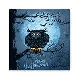 Yosunl Design Craft Kits Multi-color - Blue 'Halloween' Owl DIY Rhinestone Painting Kit