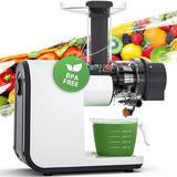 SDPP Juicer Machines, Aeitto Slow Masticating Juicer in White, Size 6.77 H x 17.32 W x 12.28 D in | Wayfair B093GSR7Q9