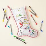 Color-in Christmas Wish Stocking