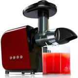 SDPP Juicing Machine, 2021 Masticating Slow Juicer Extractor, Cold Press Juicer w/ High Juice Yield in Red | Wayfair B083Q3R5Q1