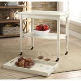 Canora Grey Antique Frisco Tray Table Antique in White, Size 32.0 H x 30.0 W x 18.0 D in | Wayfair BB0B4B35B1EB46ABBFBFE119CC99C45F