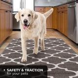 Red Barrel Studio® Resistant Carpet Runner – Moroccan Trellis Lattice in White, Size 26.0 W x 0.2 D in   Wayfair EE45597032A04F44BED059EEC0AE37F5