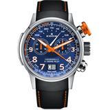 Chronograph Blue Dial Watch Tino Buo3 - Blue - Edox Watches