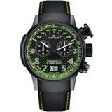 Chronograph Quartz Green Dial Watch Tingn V3 - Green - Edox Watches