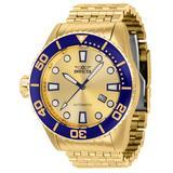 Invicta Pro Diver Atomic Automatic Men's Watch 50.7mm Gold (36409)