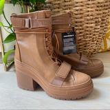Converse Shoes | Converse Gr 82 Xx Hi Boot Shoe Wedge Sneaker Clove Brown Combat 8.5 9 9.5 Gr82 | Color: Brown | Size: Various