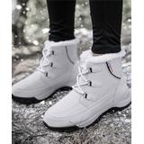 NANIYA Women's Casual boots gray - Gray Faux Fur Ankle Duck Boot - Women