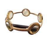 Kate Spade Jewelry   Kate Spade Clear Crystal Stones Bracelet Bangle   Color: Gold/White   Size: 6.5 Small
