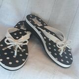 Kate Spade Shoes | Kate Spade Flip Flops | Color: Black/White | Size: 5