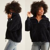 Levi's Tops | Levis Made & Crafted Nwt Sherpa Sweatshirt | Color: Blue | Size: S