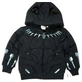 Mad Engine Marvel Black Panther Toddler Boy's Sherpa Lined Fleece Hoodie (4T)