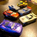 Disney Toys | Disney Cars Pixar Bundle Of 6 Scale 1:45 Pull & Go | Color: Brown/Black | Size: Osb