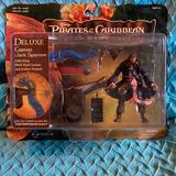 Disney Toys   Nib Disneys Deluxe Captain Jack Sparrow   Color: Brown   Size: Osb