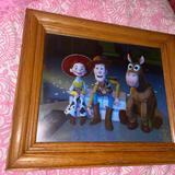 Disney Accents   Disney 2000 Lithograph   Color: Blue   Size: Os
