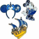 Disney Accessories   Minnie Mouse The Main Attraction Pin Set Peter Pan   Color: Silver   Size: Os