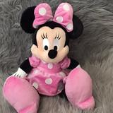 Disney Toys   Disney Park Stores Minnie Mouse Plush Toy   Color: Tan   Size: One Size