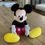 Disney Toys | Disney Parks Mickey Mouse Stuffed Animal Plush Toy | Color: Black | Size: 17