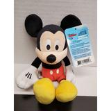 Disney Toys | Disney'S Mickey Mouse Clubhouse Mickey Plush - New | Color: Cream | Size: 10 Inch