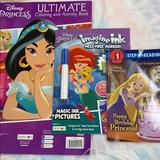 Disney Toys | Disney Princess Coloring, Activity, & Reading Set | Color: Tan | Size: Osg