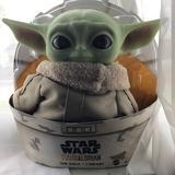 Disney Toys   Baby Yoda Doll   Color: Black   Size: Osg