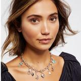Free People Jewelry   Free People Mix & Match Charm Necklace Nwt   Color: Tan/Brown   Size: Os