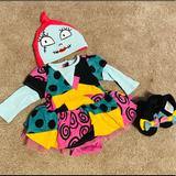 Disney Costumes   Nightmare Before Xmas Sally Infant Costume   Color: Gold   Size: 0-3