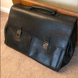 Gucci Bags   Gucci Briefcase   Color: Black   Size: 17.5 X 12
