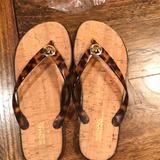 Michael Kors Shoes | Never Worn Michael Kors Flip Flops. | Color: Black | Size: 6