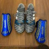Adidas Shoes   Adidas Kids Soccer Cleats & Shin Guards   Color: Black   Size: 5.5g