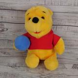 Disney Toys   Disney Winnie The Pooh Pooh Bear Plush Toy 12   Color: Red   Size: Os