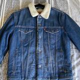 Levi's Jackets & Coats   Mens Size Small Levis Jacket   Color: Blue/Black   Size: S