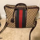 Gucci Bags   Gucci Briefcase   Color: Black   Size: Os