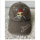 Disney Accessories | Disney Pirates Of The Caribbean Pirate Baseballcap | Color: Black | Size: Os
