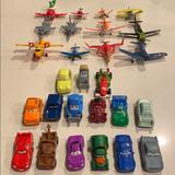 Disney Toys | Cars & Planes Disney Pixar Movie Figurines. | Color: Tan | Size: Osb