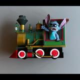 Disney Toys | Guc Disney Theme Park Stitch Pull Back Train | Color: Black | Size: Os