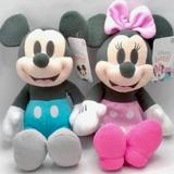 Disney Toys   Disney Mickey And Minne Mouse Baby Plush Doll   Color: Black   Size: One Size