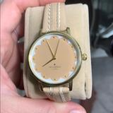 Kate Spade Jewelry | Kate Spade Nude Watch Scallop | Color: Tan | Size: Os