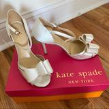 Kate Spade Shoes | Kate Spade Ivela Ivory Wedding Shoe | Color: Red/Pink | Size: 7