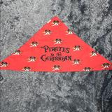 Disney Accessories | 5$25 Disney Pirates Of The Caribbean Bandana | Color: Red | Size: One Size