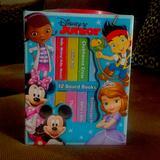 Disney Toys | Disney Junior Board Books (12) | Color: Green | Size: 10 Mos +