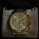 Michael Kors Accessories | Michael Kors Mens Analog Watch | Color: Brown | Size: Os