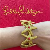 Lilly Pulitzer Jewelry   Lilly Pulitzer Starfish Stretch Bangle Bracelet   Color: Tan   Size: Os