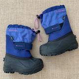 Columbia Shoes | Euc Columbia Powderbug Waterproof Snow Boots | Color: Blue/Purple | Size: 7bb