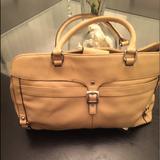 Nine West Bags | Brief Case Laptop Bag | Color: Orange/Tan | Size: Os
