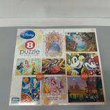 Disney Games | Mega Puzzles 8 Puzzle Collection Disney Princess | Color: Tan/Gray | Size: Os