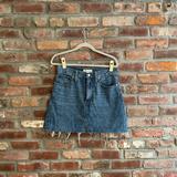 Madewell Skirts | Madewell Vintage Style Denim Skirt | Color: Black/Blue | Size: 27