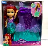 Disney Toys | Disney Ariel Doll & Child Size Dress New | Color: Purple | Size: Osg