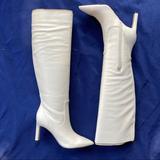 Nine West Shoes | Nine West Eggshell Knee-High Boots | Color: Purple/Blue | Size: 5