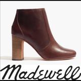 Madewell Shoes | Madewell Cherry Wood High-Heel Boots | Color: Black | Size: 6.5